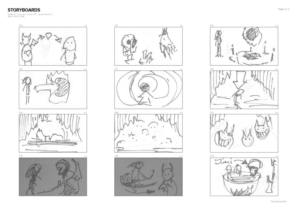 storyboards-2019-04-21-07.26.40-page-002-1024x724 The Process: Pablo Infernal – Devil's Heart. Animated music video