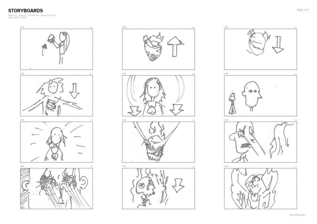storyboards-2019-04-21-07.26.40-page-004-1024x724 The Process: Pablo Infernal – Devil's Heart. Animated music video