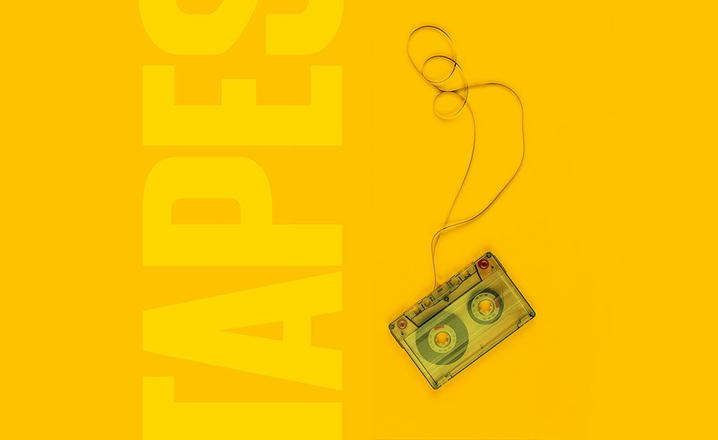 Merch: audio cassette tapes