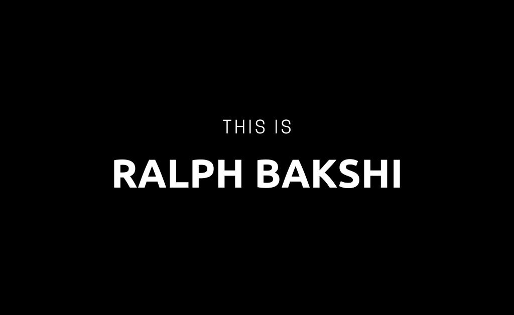 "<span class=""dojodigital_toggle_title"">Ralph Bakshi</span>"